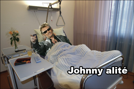 Johnny alité