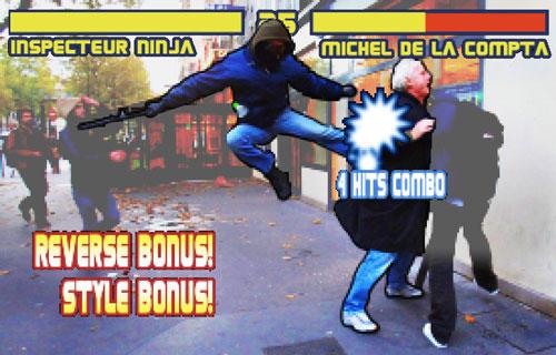 Inspecteur ninja vs Michel de la compta