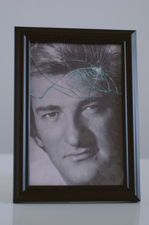 Très rare exemplaire de photo d'Eddy cassée.